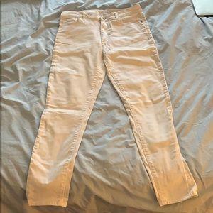 LOFT White Skinny Jeans Size 4/27